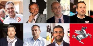 Candidati presidenti Regione