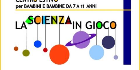 La scienza in gioco - logo