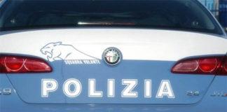 polizia volante posteriore
