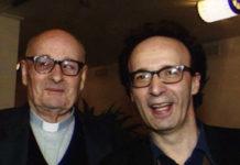 Don Alfio Bonetti e Roberto Benigni