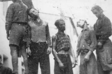 partigiani impiccati