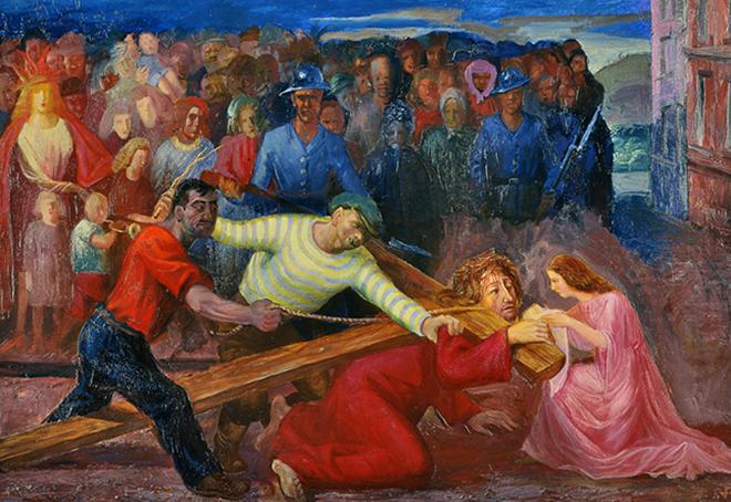 Otto Dix (1891-1969); Kreutztragung