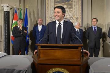 Matteo Renzi (foto Presidenza della Repubblica)