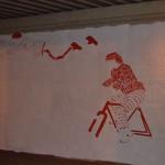 Yuri Romagnoli, il murale sotto il cavalcavia (galleria)