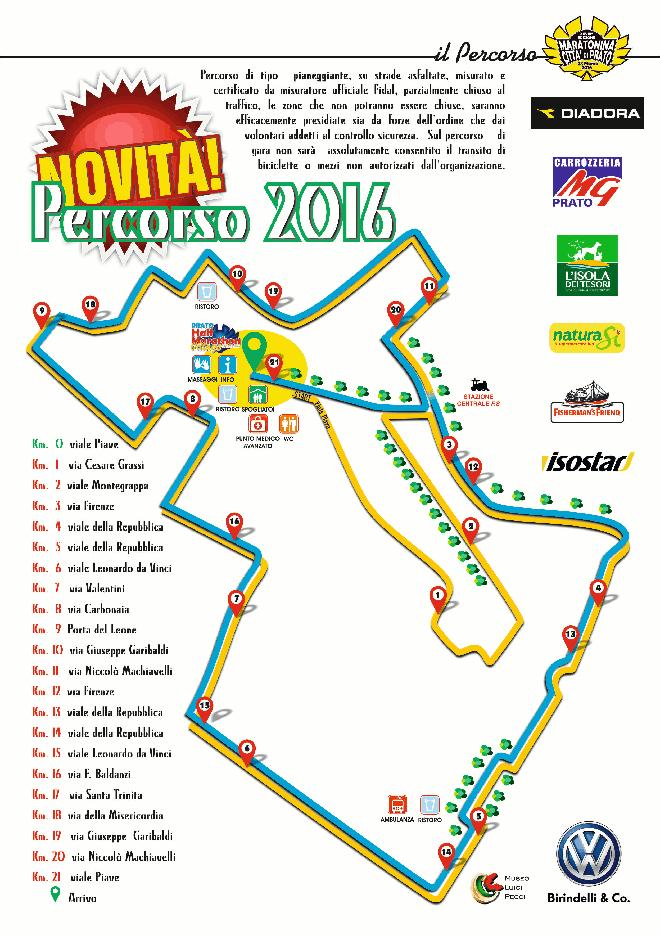 Maratonina di Prato 2016