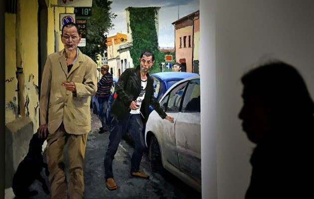 Liu Xiaodong MIgrazioni