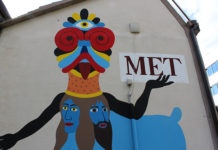 Murale di Dem per il teatro metastasio (particolare)
