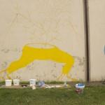 Dem dipinge la storica fabbrica Calamai (foto)