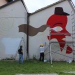 Prosegue il lavoro di Dem a Prato (foto)