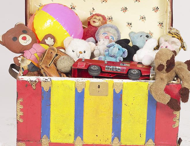 Vecchi giocattoli
