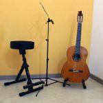 L'aula di chitarra