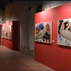 I quadri di alain Bonnefoit