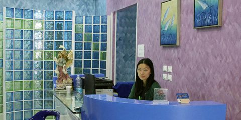 Isabella Ye in reception