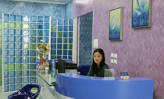 Isabella Ye in reception