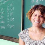 Simona Coppini insegna italiano