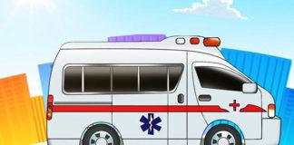 Disegno di un ambulanza