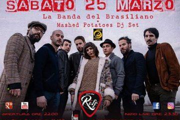 La Band del Brasiliano in concerto al Riff Club di Prato