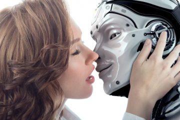 Bacio a un Sex Robot