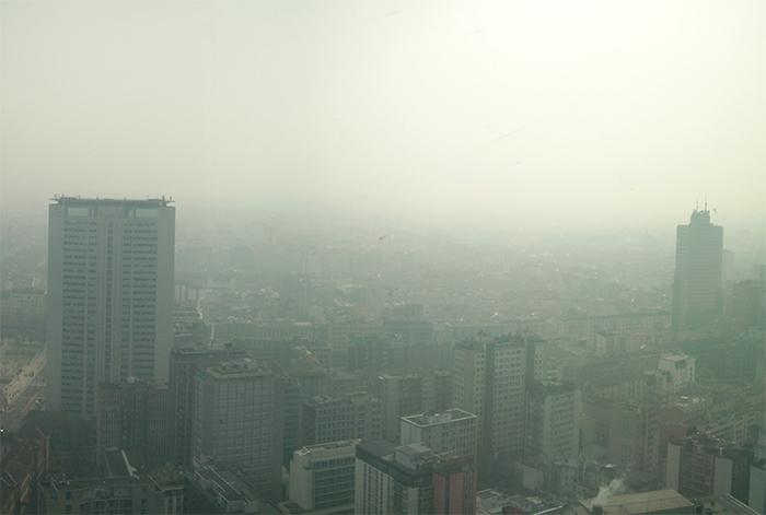 La nebbia rende più tossico lo smog