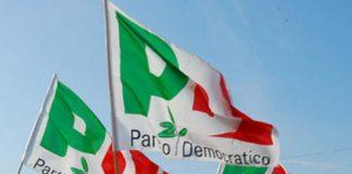 Bandiere del Pd
