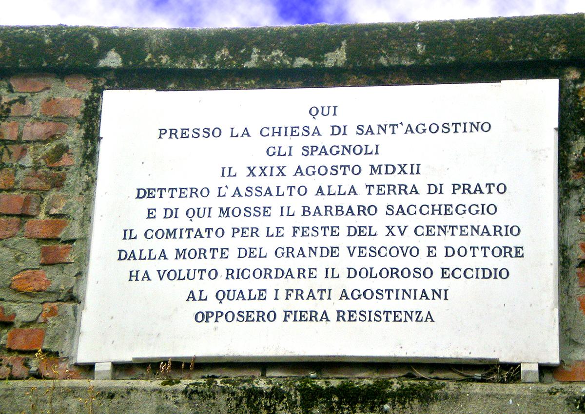 Lapide Sacco di Prato