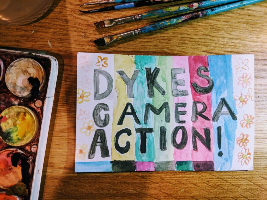 Dikes Camera Action - Queer festival