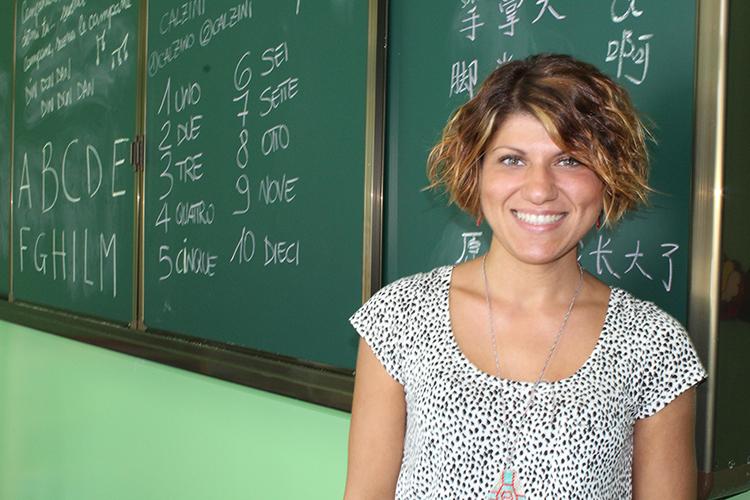 Insegnante a scuola
