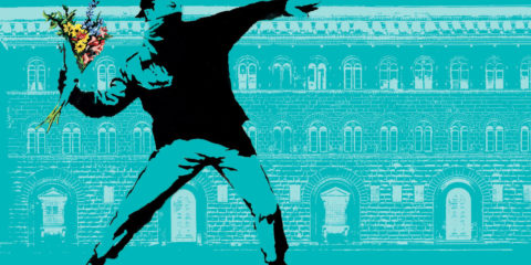 Banksy a Firenze