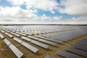 Un campo fotovoltaico