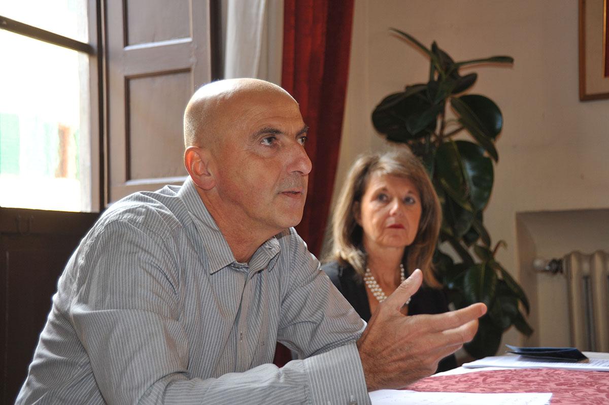 Un momento della conferenza stampa di presentazione di Sudwave