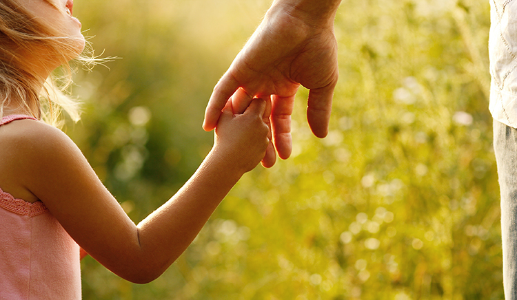 genitore e bambina