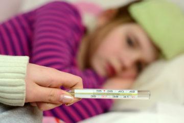 A casa con il virus dell'influenza