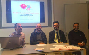 All in for all: un momento della presentazione