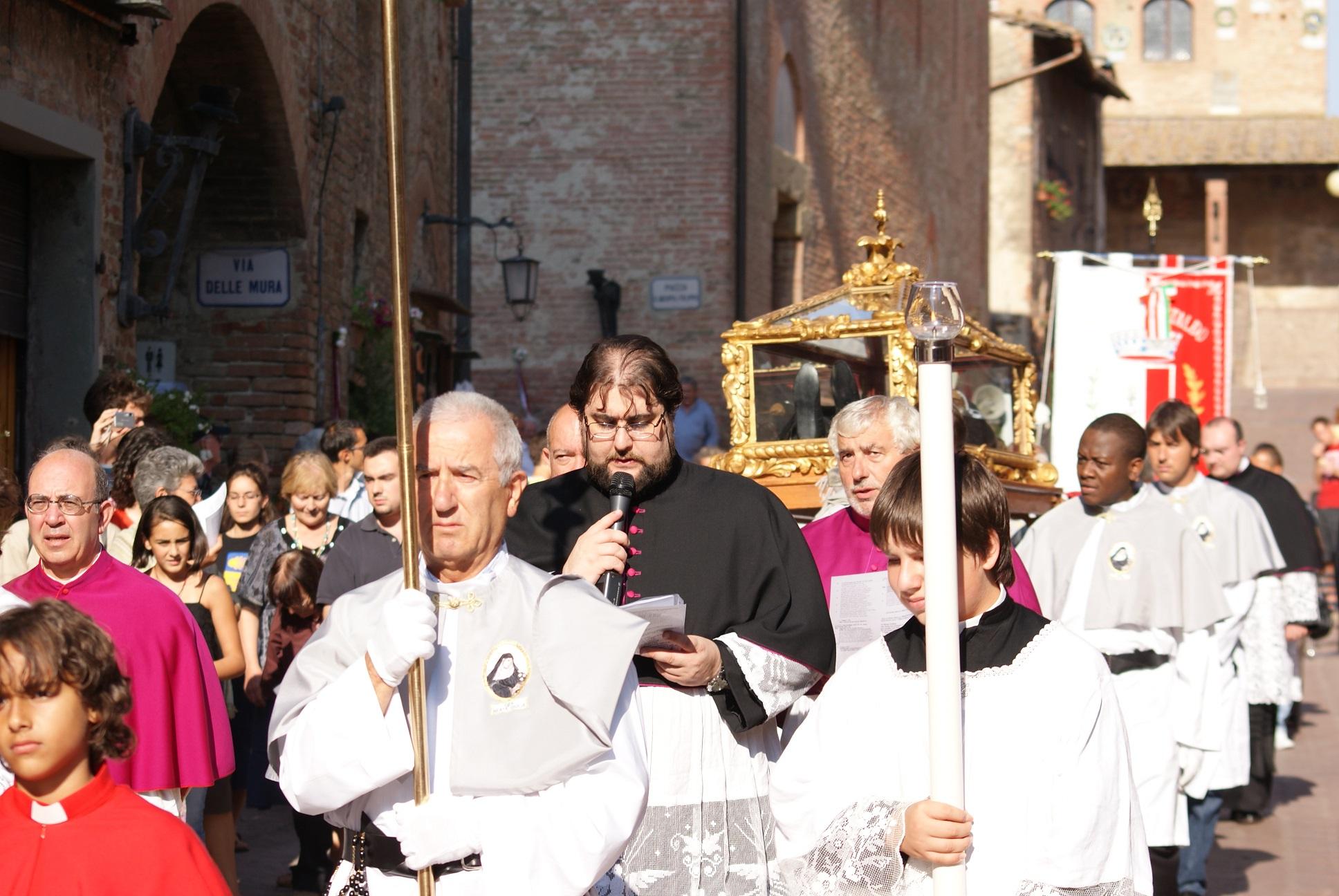 Celebrazioni per Beata Giulia della Rena a Certaldo (foto Maurizio Chinaglia)