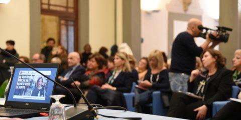 La presentazione del Rapporto sulla violenza di genere (foto Marco Ottaviani)