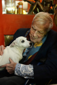 Franco Zeffirelli - Ritratto con cane