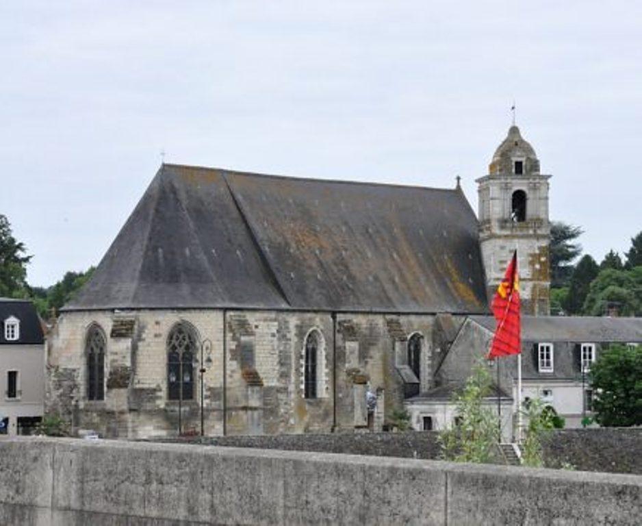 La chiesa di Saint Florentin Courtesy Municipio di Amboise