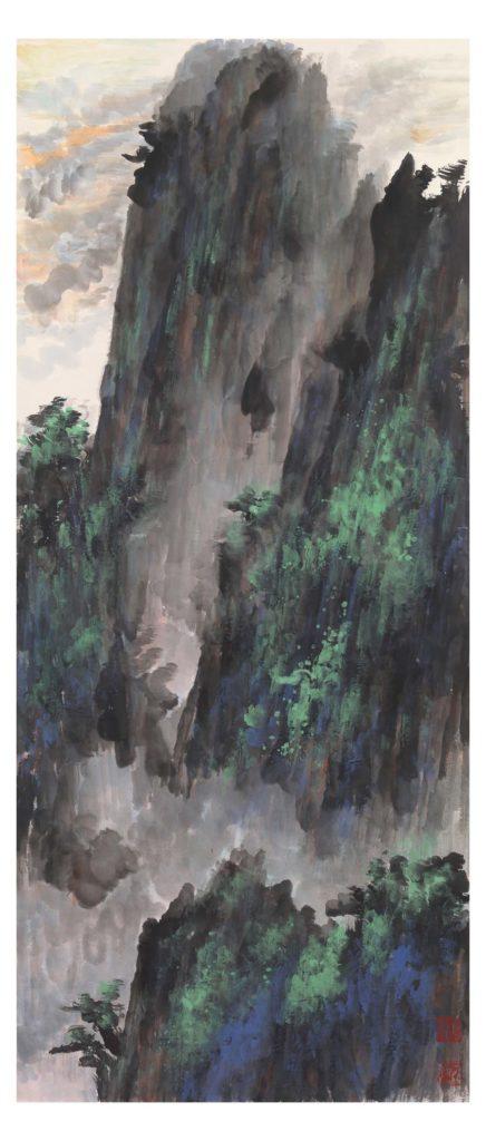 Una delle montagne di Mao Jianhua
