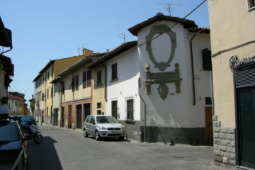 Via di Peretola - Dove il Comitato libertà toscana ha presentato il suo progetto di rivoluzione rionale