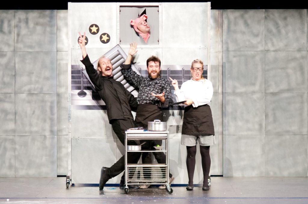 Una scena di Chefs degli Yllana