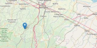 Cartina terremoto