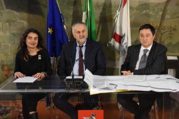 Conferenza stampa Vaiano Regione