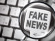 Fake news lente d'ingrandimento