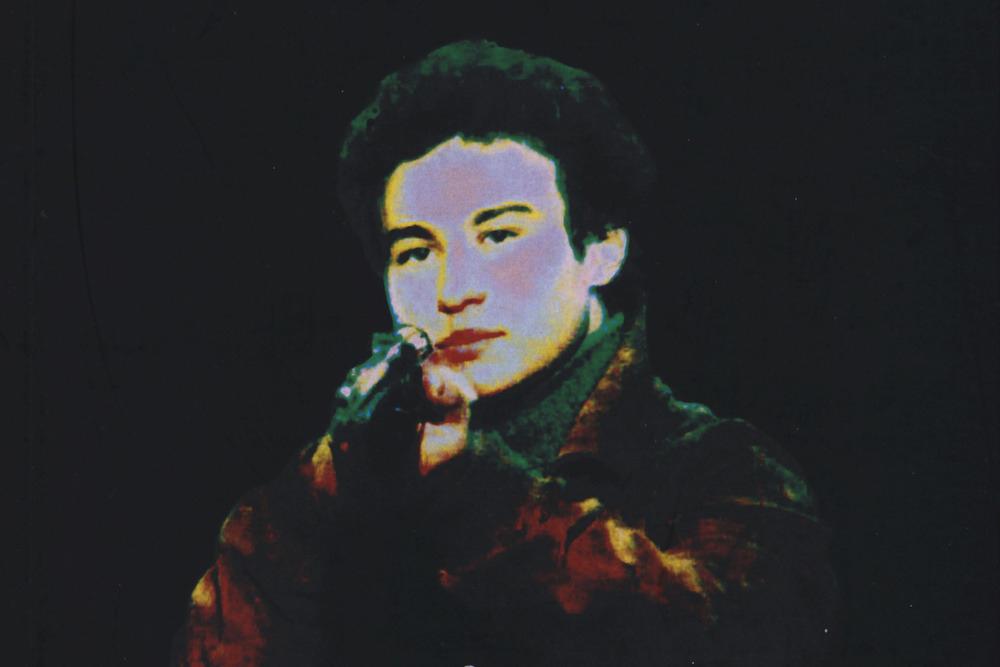 Giuseppe Lo Presti sulla copertina di Il Cacciatore