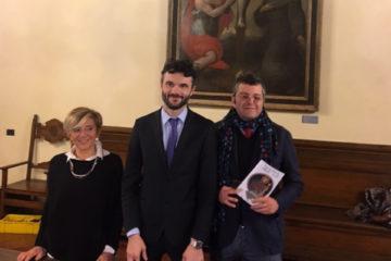 Inaugurazione galleria di palazzo comunale a Prato