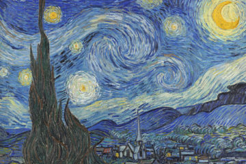 The Starry Night, June 1889 (oil on canvas)