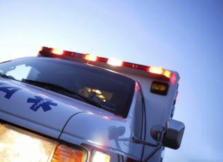 Ambulanza rubata