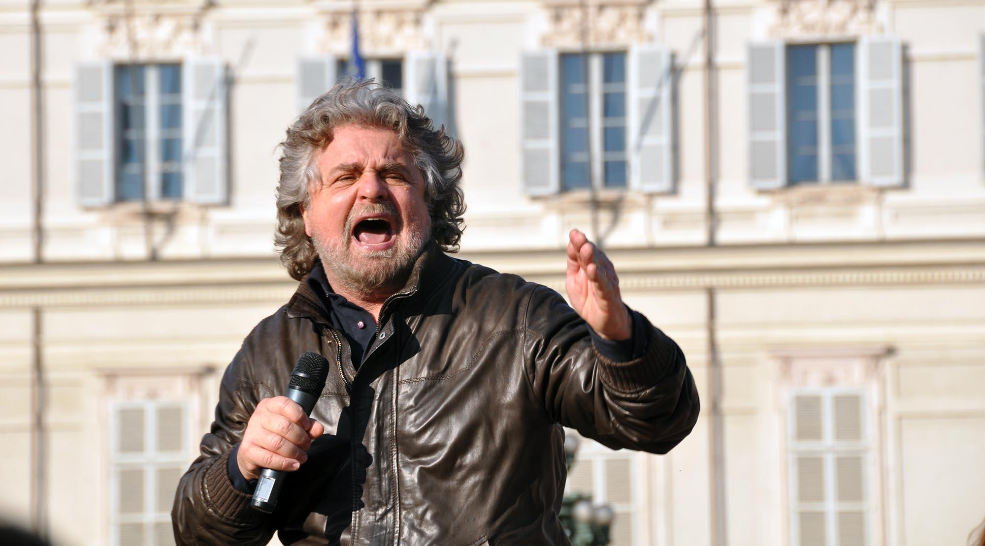 Beppe Grillo sottoscrive il Patto per la scienza