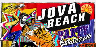 Il poster del Jova Beach Party 2019
