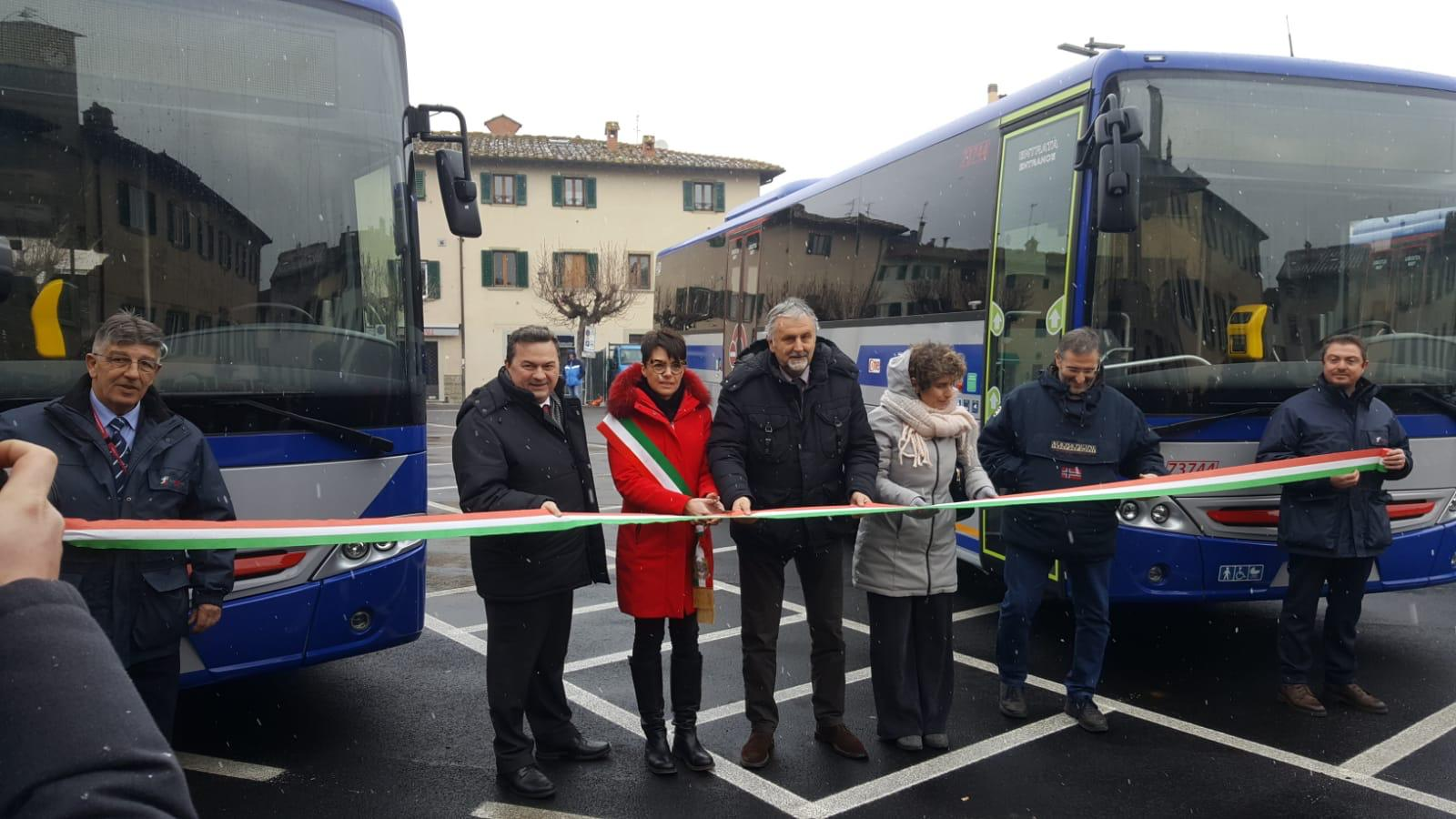 Nuovi autobus in Mugello